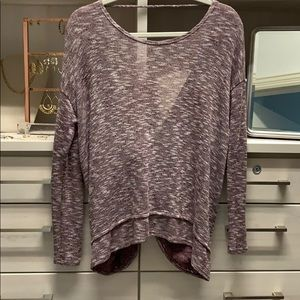 Karlie Backless Sweater Size Small